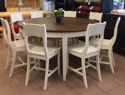 pyöreä pöytä 160