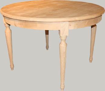 Vanha pyöreä pöytä
